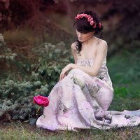 in the forest :: Мария Буданова