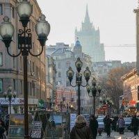 Прогулка по Арбату :: Андрей Климов