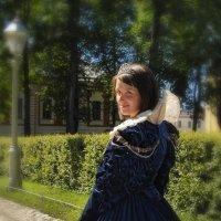 Девушка в синем :: Цветков Виктор Васильевич