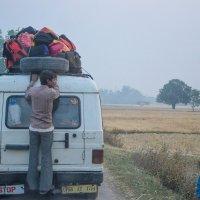 Дорога из Индии в Непал :: Марина Семенкова