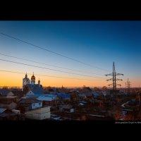 """Церковь в городе """"Ветра"""" 2 :: Алексей Григорьев"""