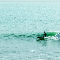 Почувствовать волну океана :: Ирина Краснобрижая