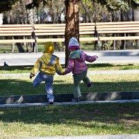 В парке :: Виктор