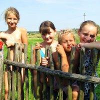 Лето в деревне. :: Нина