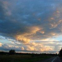 Вечерело...Красота природы. :: Владимир Гилясев