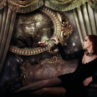 Волшебное зеркало :: Татьяна Тарасенко