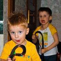 крошка сын к отцу пришел..... :: kurator Popov