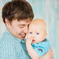 папа и сын :: Татьяна Лядова