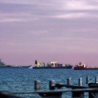 В нашу гавань заходили корабли... :: Вячеслав Мишин