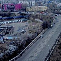 Нижний Новгород с высоты. Вид на Гордеевку. :: Павел Зюзин