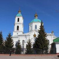 Церковь на Тарской (Крестовоздвиженская 1870год) :: Гулько Т