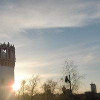 Монастырь на закате. :: Tatiana Tutatchikova
