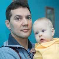 Папа и сын :: Алёна Козлова