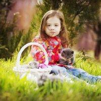 Дети и кошки............ :: Света Солнцева