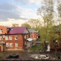 Акварель за окном :: Светлана Шмелева