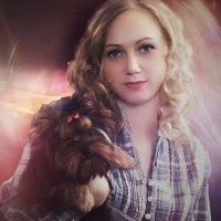 Дама с собачкой :: Андрей Бедняков