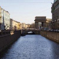 Канал Грибоедова, вид на Невский :: jenia77 Миронюк Женя