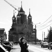 Архангельск - город контрастов (ч/б) :: Алёна Михеева
