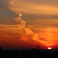 утро 18-ого. дорога в небо. :: Даша Мягкая