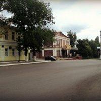 Маленький кусочек города Боброва (там маленькие домики - уютно очень) :: Ольга Кривых
