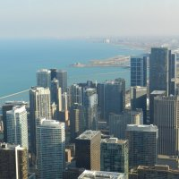 Вид на прибрежную часть Чикаго :: Юрий Поляков