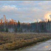 Апрельский закат :: Виктор Бельцов