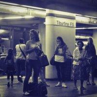 ...метро... :: Ольга Нарышкова