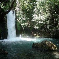 водопад Баниас. Израиль :: ES