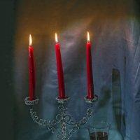 Натюрморт со свечами... :: Екатерина Рябинина