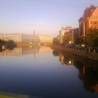 Санкт-Петербург, Фонтанка, утро :: Динара Мосикова