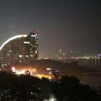 вид с балкона вечером :: Лютик Лютик