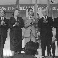 1980 г. Открытие соревнований. :: Олег Афанасьевич Сергеев