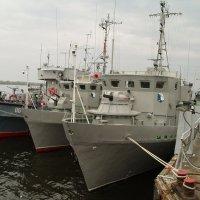 Корабли Каспийской флотилии в Волгограде :: Александр