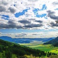 Вид с перевала Чакыр. :: Владимир Михайлович Дадочкин