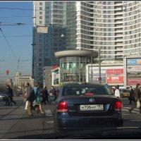 Москва из окна автомобиля. :: Михаил Розенберг