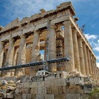 Храм Афины на холме Акрополь. :: Эдуард Закружный