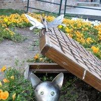 Такого вот кота обнаружила вчера. :: Natasha Chevtchenko