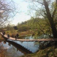 Подвесной мостик :: Ирина Бирюкова