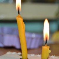 свечи :: Маринка Захарова (Антипова)