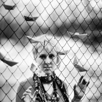 """Как рыбы-корабли, как мысли дурака, за окнами зари летели облака!"" :: Татьяна Курамшина"