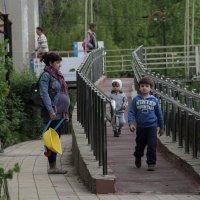 Прогулки у моста 3. :: Larisa Gavlovskaya