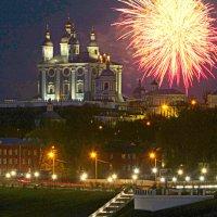 Праздничный фейерверк. :: Игорь