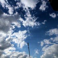 Небо над Москвой :: Евгения Беденко
