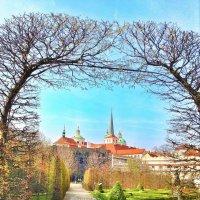 Уолштейнский дворец. Парк. Прага :: Ирина Бирюкова