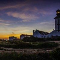 Lighthouse. Cape Espichel. Portugal :: Yuriy Rogov