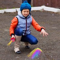 Исчезновение мыльного пузыря. :: Алексей Golovchenko