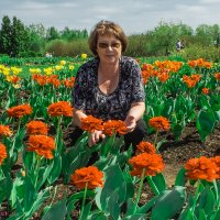 В цветах :: Evgenij Schleinikov