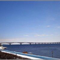 """Тот самый, """"горбатый"""" мост через Волгу. :: Лариса Коломиец"""