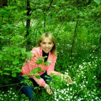 На природе в лесу. :: Инна C