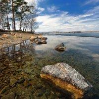 Пейзаж с камнем. :: Сергей Адигамов